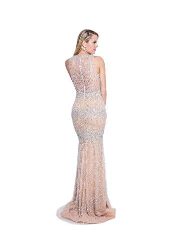 (Terani Couture 18125351 Blush/Nude)