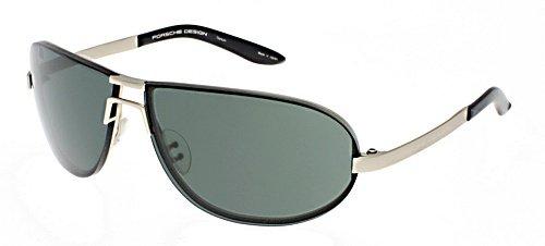 Amazon.com: Porsche anteojos de sol p 8418 una P8418 de oro ...