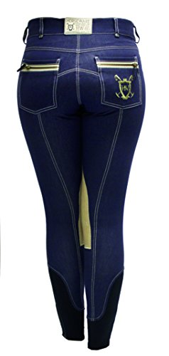 Winter Nina Knee Patch Breeches, Blue Je - Warm Knee Patch Breeches Shopping Results