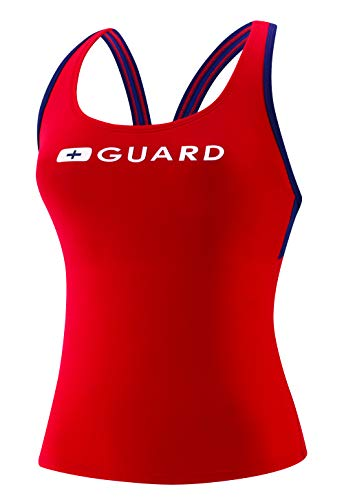 Speedo Guard Tankini - Endurance Lite, US Red, -