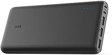 Anker PowerCore 26800 (26800mAh 超大容量 モバイルバッテリー) 【デュアル入力ポート / 3台同時充電】iPhone/iPad/Android/新しいMacBook他各種対応
