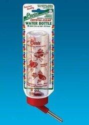 8oz Clear Hamster Bottle by KORDON/OASIS (NOVALEK) ()