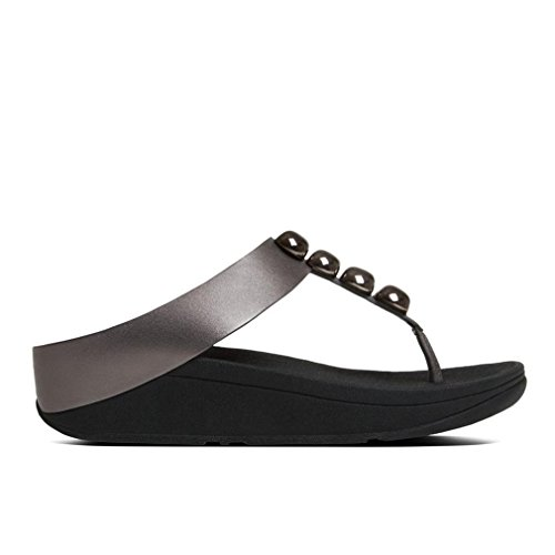 Pewter Various Femme Tongs FitFlop Rola waqISAxTT