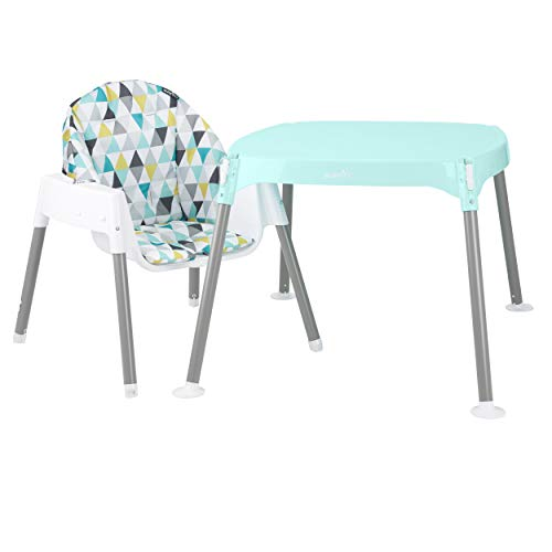 31yRaU9 KzL - Evenflo 4-in-1 Eat & Grow Convertible High Chair, Prism