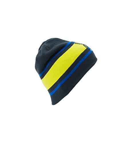 Word Gris Única Gorro Spyder Hombre amarillo Talla Reversible gris azul Negro fwIIT