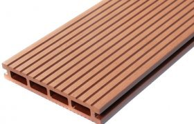 WPC Terrassendielen + Zubehör WPC Poolumrandung Balkon Terrassen Holz  Muster Set