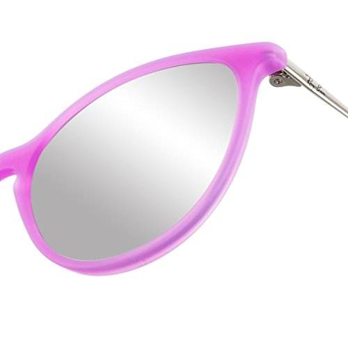 Ban RJ9060S Trasp Fluo Violet Sonnenbrille Ray Rubber Junior UqzxwPd1dF