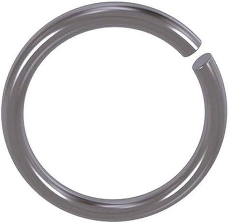 8 mm Runddraht Sprengring Sicherungsring DIN 7993 Form A f/ür Welle 5 St/ück