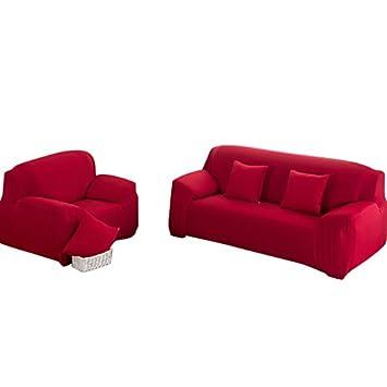 Amazon.com: snewvie Stretch sofá Slipcover fundas de sofá 2 ...