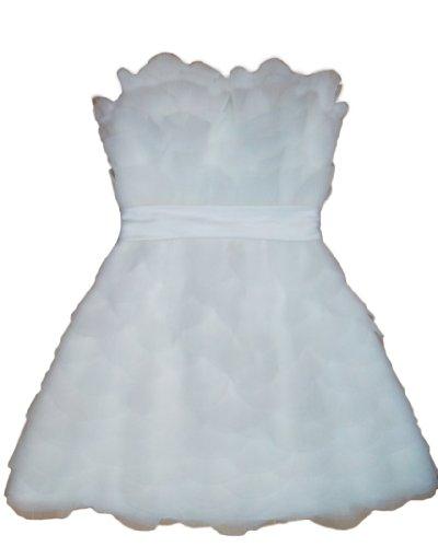 Fashion Y Damen Alivila Weiß Kleid 5qadwSv