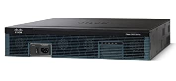 Cisco 2921/K9 Router; 3GE, 4EHWIC, 3DSP, 1 Networking Devices at amazon