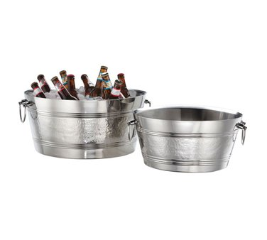 American Metalcraft DWBT185 Tubs, 18.5'' Length x 18.5'' Width, Silver by American Metalcraft