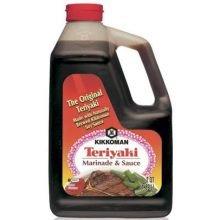 Kikkoman Teriyaki Marinade and Sauce, 1 Gallon - 4 per case. -