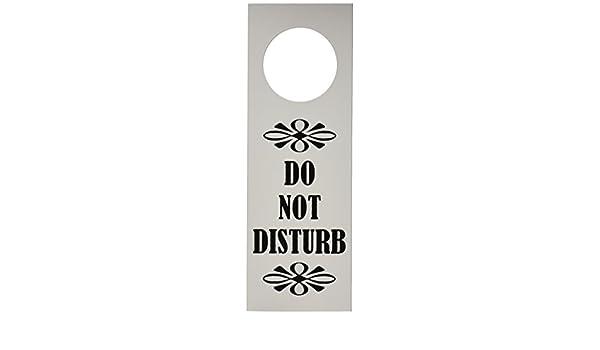 1 x No molestar - Colgador para puerta by MySigncraft ...