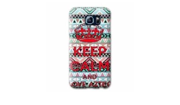 Amazon.com: Case Carcasa LG K4 Keep Calm - - Aztec B -: Cell ...