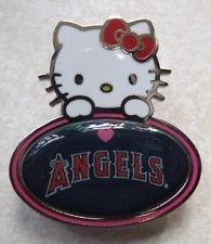 MLB Los Angeles Angels Hello Kitty Peeking Pin