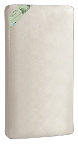 """Kolcraft Pure Sleep Therapeutic 150 Infant/Toddler Crib Mattress -150 Extra Firm Coils, Hypoallergenic, Durable Waterproof Cover, Crib Fit Tested, 52""""x28"""""""
