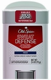 Old Spice Sweat Defense Solid Extra Strong A/P Deodorant Fresh 2.6 oz. (Pack of 2) (Old Spice Deodorant Sweat compare prices)