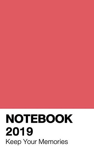 Notebook 2019: Calendar Living Coral Color (Pantone) ()