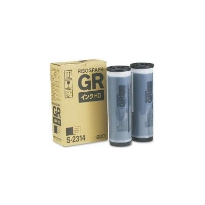 Genuine Original Riso GR 3770 Ink Black HD S-2314 ()