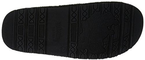 Staheekum Mens Mens' Outdoor Plush Grand Slip-on Slipper Timber Charcoal gSWjPzH