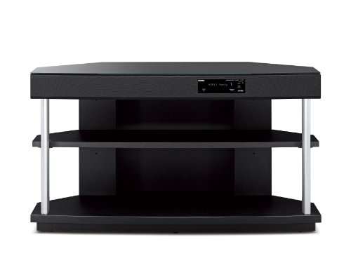 Yamaha YRS-700 TV Stand Includes 7.1-Channel Home Theater System with 250W Digital Amplifier and Invisible Subwoofer (Black) by Yamaha
