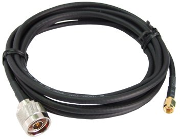 RP-SMA-Male to N-Male LMR-195 Cable 3 Feet Long