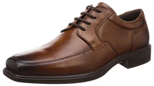 ECCO Men's Minneapolis Apron Toe Tie Oxford Amber 47 M EU (13-13.5 US) (Toe Tie Oxford)