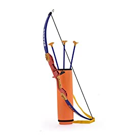 TANMAN Robinhood Bow & Arrow Archery Set with Quiver and 3 Suction Arrows