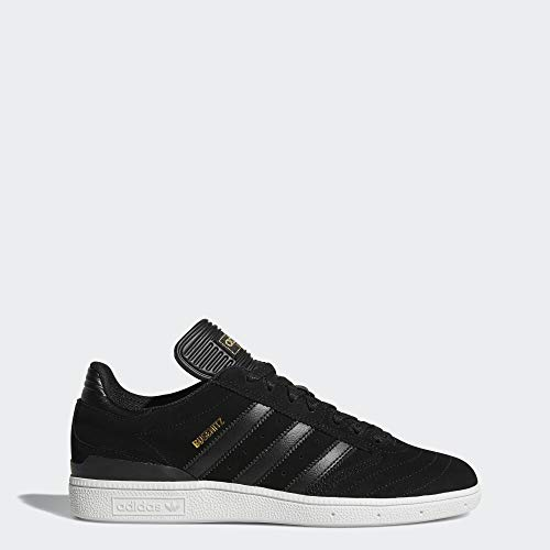adidas Originals Men's Busenitz Skate Shoe, Black/White, 8 M US (Adidas Busenitz Pro)