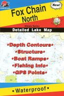 Fox Chain North Fishing Map (Illinois Fishing Series, L183)
