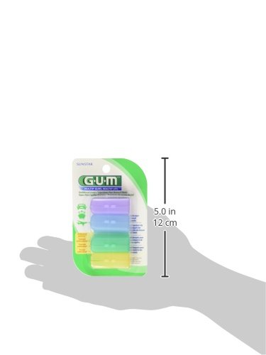 GUM Toothbrush Covers 4 Each ( Pack of 3)