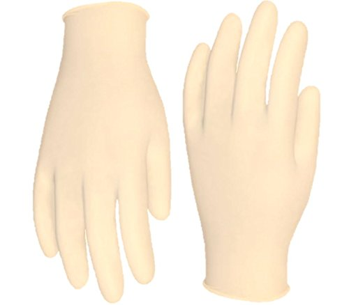 Cordova Safety Products 4020XL Silver Industrial Grade Latex Powdered Disposable Gloves, X-Large by Cordova Safety Products