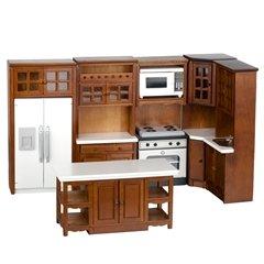 Dollhouse Miniature 6-Pc. Bentley Kitchen Set by Aztec Imports, Inc.