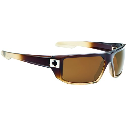 Spy Mccoy Sunglasses - Spy Optic Steady Series Casual Wear Eyewear - Bronze Fade/Bronze / One Size Fits All
