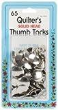 Bulk Buy: Dritz Quilter's Thumb Tacks 1/2in. 65/Pkg C330 (6-Pack)