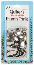 Bulk Buy: Dritz Quilter's Thumb Tacks 1/2in. 65/Pkg C330 (6-Pack) by Dritz
