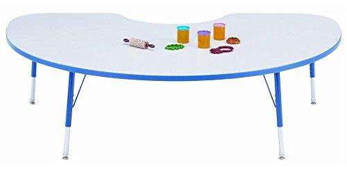 JonTi CrafT Rainbow Accents Kydz Kidney Activity Table w ...
