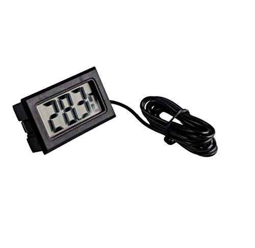 UTP utl 100PCS/LOT LCD Display Car Refrigerator Aquarium Fish Tank Embedded Electronic Digital Thermometer by UTP (Image #1)