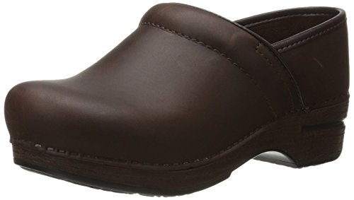Dansko Women's Pro XP Mule,Brown Oiled,41 EU/10.5-11 M - Slip Oiled Ons Professional