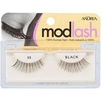 Andrea Modlash Strip Lash - 53 Black Black (Quantity of 5)