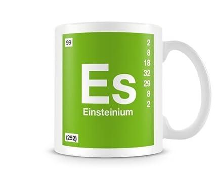 Amazon Periodic Table Of Elements 99 Es Einsteinium Symbol