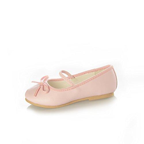 DressForLess Classic Ballet Flats Pink
