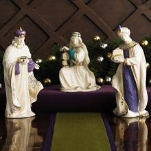 Lenox First Blessing Nativity Three Kings NEW in Box
