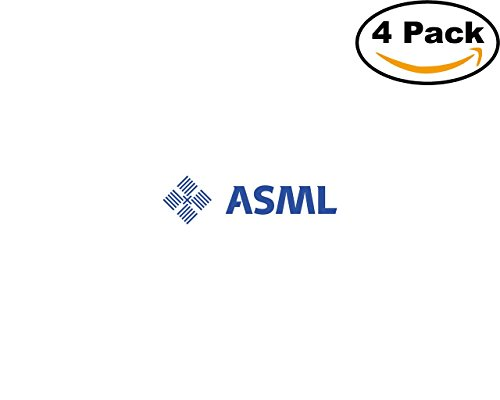 Asml 4 Stickers 4X4 Inches Car Bumper Window Sticker Decal