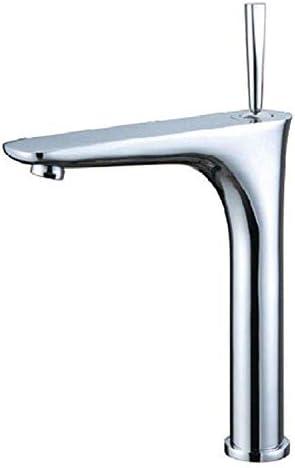 ZT-TTHG バスルームのシンクは、スロット付き浴室の洗面台のシンクホットコールドタップミキサー流域の真鍮シンクミキサータップ非震とう浴室蛇口流域の蛇口をタップ