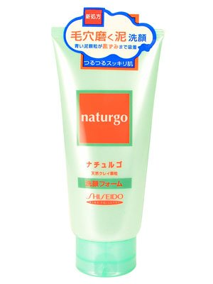Shiseido Fitit Naturgo - Natural Granulated Clay Face Wash for Nose Pore 4.2oz/120g by Shiseido