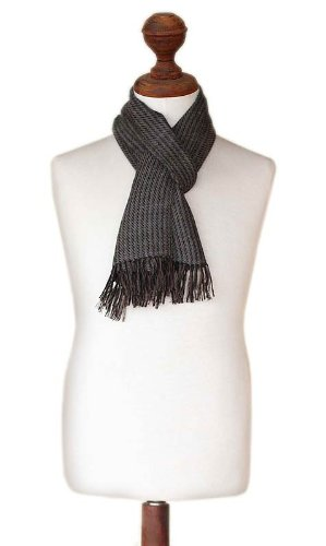 NOVICA Brown Alpaca Scarf Winter product image