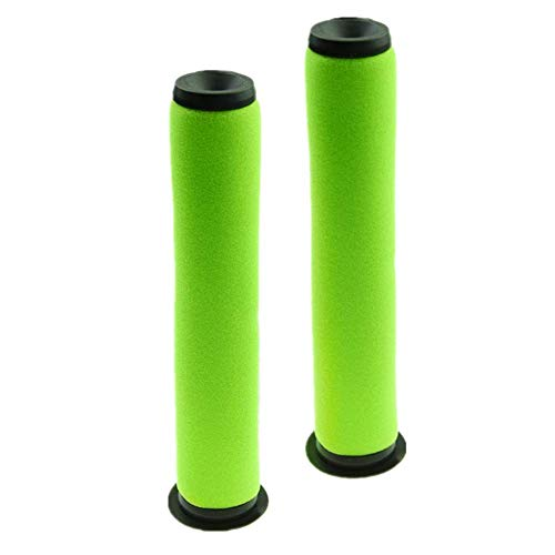 Lxiyu 2- Pack Dyson Filter Replacement Washable Green Bin Stick Vacuum Cleaner Filter for Dyson Gtech AirRam Mk2 / AirRam Mk2 K9