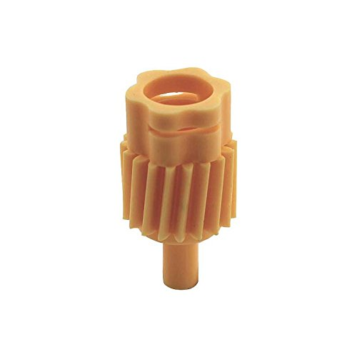 MACs Auto Parts 44-44400 Ford Mustang Speedometer Driven Gear - 18 Teeth - Gold Or Yellow - Type 3A - Genuine Ford - For 3 Speed Manual Or Automa by MACs Auto Parts